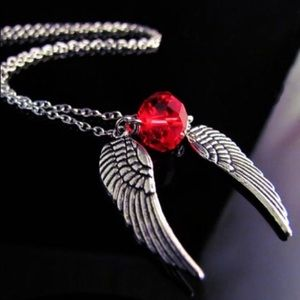 angel rocker necklace
